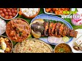 New Year Special Non Veg Thali    Dried fish fry, Bagara rice, chicken curry, Egg Fry    Vismai food