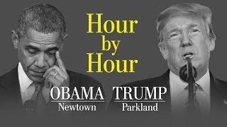 Opinion | An hour-by-hour comparison of Trump and Obama responding to school shootings