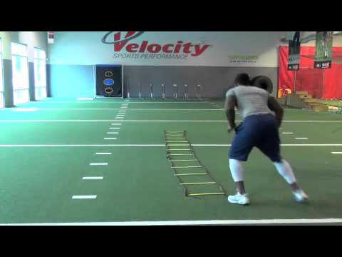 Marshall McFadden LB 6'1 240lbs Workout Video