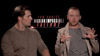 Henry Cavill and Simon Pegg say Tom Cruise is like a Mother on set