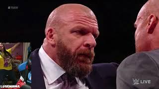 WWE Raw  11/13/17 HHH Returns