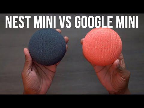 Google Nest Mini Vs Google Mini What's New