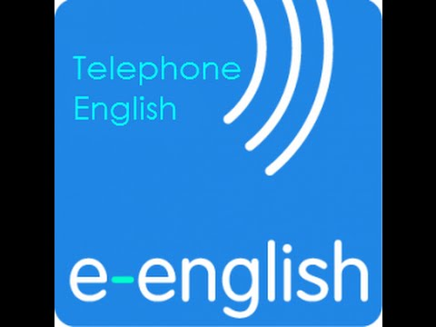 Learn English with e English  Telephone English