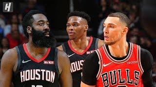 Houston Rockets vs Chicago Bulls - Full Game Highlights | November 9, 2019 | 2019-20 NBA Season