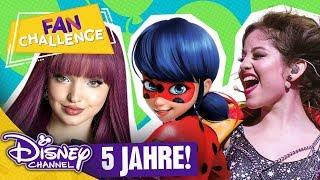 DISNEY CHANNEL FAN CHALLENGE - 5 Jahre Disney Channel 🎉🎁🎈