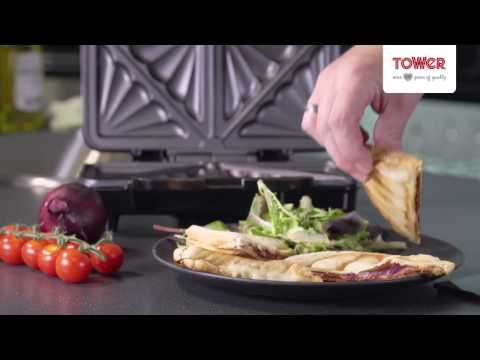 900W Deep Fill Sandwich Maker