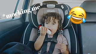I HAVE THE FUNNIEST KID IN THE WORLD   Long Awaited Vlog!!