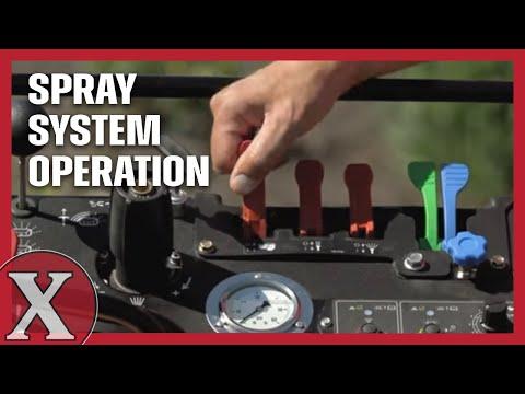 Exmark Spreader-Sprayer: Spray System Operation - Part 5