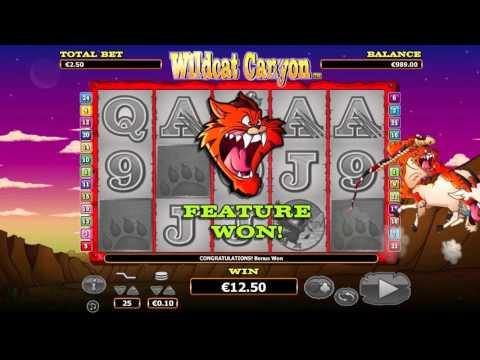 Wild Cat Canyon™ free slots machine by NextGen Gaming preview at Slotozilla.com