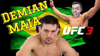 UFC 3 Demian Maia ( A MUST SEE VIDEO!! )