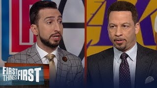 Chris Broussard & Nick agree Clippers aren't better than LeBron, Lakers   NBA   FIRST THINGS FIRST