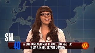Weekend Update: One Dimensional Female - Saturday Night Live
