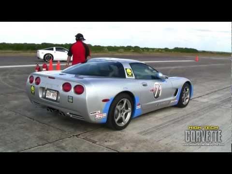 Corvettes - the Texas Mile - October 2010