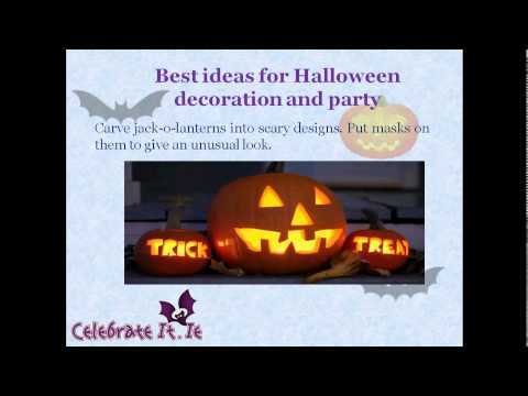 Tips for getting the best Halloween party decorations