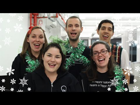 Bloopers from Happy Holidays from Imagine Easy Solutions
