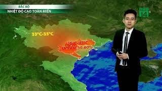 VTC14 | Thời tiết cuối ngày 23h 14/05/2018| Thanh Hóa đến Thừa Thiên Huế nhiệt độ từ 35-37 độ
