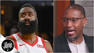Tracy McGrady calls out Rockets' tactics vs. Warriors: 'It's OK to shoot midrange shots!' | The Jump