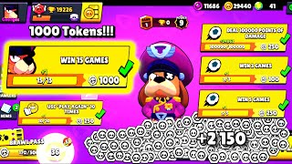 Complete 1000 TOKENS Mission on Colonel Ruffs - Brawl Stars Complete Mission #5