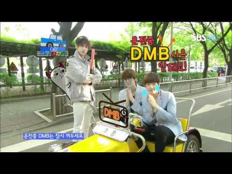 EXO-K [교통안전송] @SBS Inkigayo 인기가요 20120603