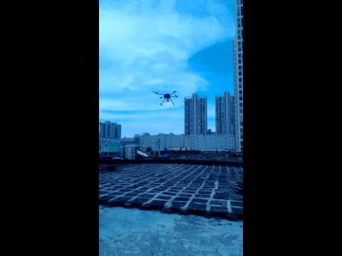 DetoxTAXI.com-20140716 Walkera QRX800 F12 Flight Test Before Shipping ...