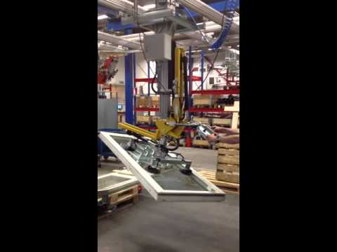 Movomech Mechlift Pneumatic Lifting and Turning Industrial Manipulator