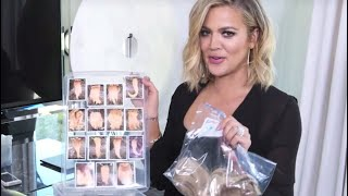 [FULL VIDEO] Khloe Kardashian | All About My Hair Extensions + How I Organize Them | Khlo-C-D