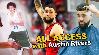"""Day In The Life With Austin Rivers! """"I've Never Given People The Chance To Know Me"""" 😱"""