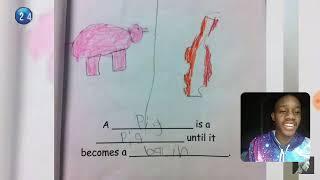 Wow!! Funny kids test