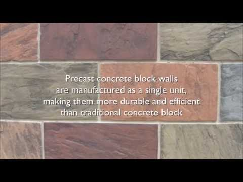 Concrete Block Wall - AFTEC Advanced Forming Technology
