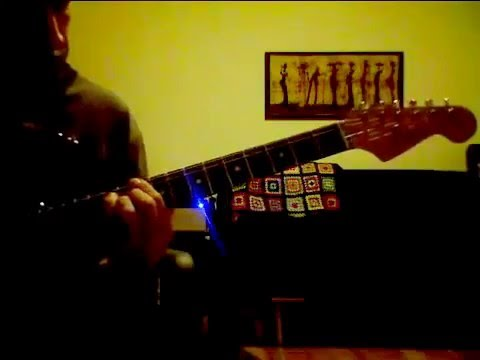 Ken Lasaine - Guitar - The In Crowd with a Teisco \'zen-on\' eBay score.