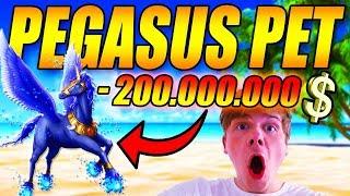 PEGASUS PET - 💲 200.000.000 💲 - NY UPDATE - Treasure Hunt Simulator - DANSK ROBLOX [#6]