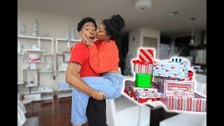 I Surprised my Boyfriend with a TON of EARLY CHRISTMAS GIFTS | VLOGMAS DAY 13