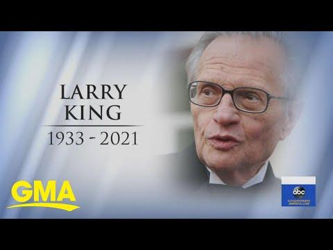 Larry King, talk show legend, dies at 87