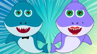 Baby Shark Dance 2 Nursery Rhymes Songs for Kids with Children Dancing Baby Sharks