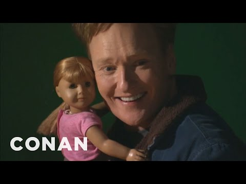 Conan Visits The American Girl Store - Smashpipe Comedy