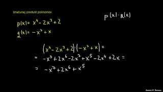 Polinomi – naloga 2