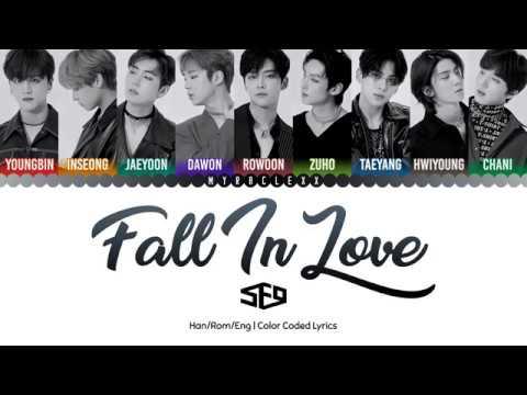 SF9 (에스에프나인) - Fall In Love Lyrics [Color Coded-Han/Rom/Eng]