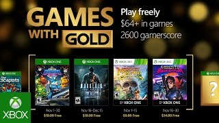 Games with Gold November lineup includes Murdered: Soul Suspect and Far Cry 3 Blood Dragon