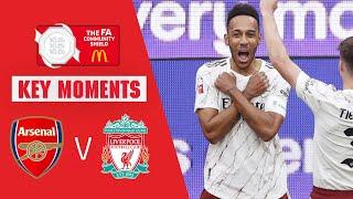 Arsenal vs Liverpool | Key Moments | Community Shield 2020