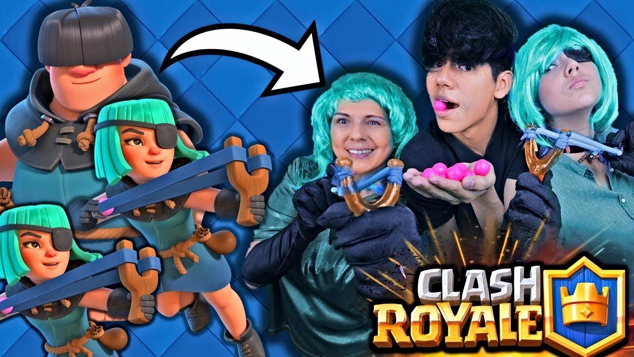 Somos Los Pillos Ganando Clash Royale Con Mi Mamá Y Mi Hermana Antrax