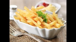 French Fries Recipe, Easy and Crispy !