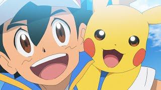 UK: ENTER PIKACHU!   Pokémon Journeys: The Series Episode 1