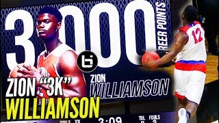 Zion Williamson WINDMILLS His Way to 3,000 CAREER POINTS!