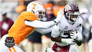 Texas A&M Aggies vs. Tennessee Volunteers | 2020 College Football Highlights