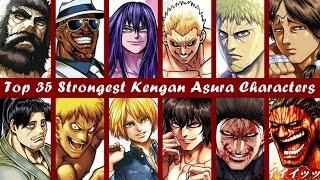 Top 35 Strongest Kengan Ashura Fighters