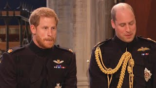 Princes William and Harry Will Be Seperated at Funeral