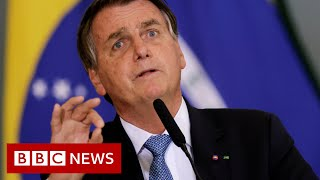 Brazil's President Bolsonaro 'should be charged with crimes against humanity' – BBC News