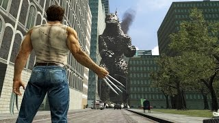 [SFM] Godzilla vs Wolverine | Battle in the Movies
