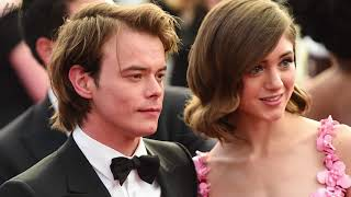 Natalia Dyer SQUASHES Breakup Rumors about BF Charlie Heaton From 'Stranger Things'