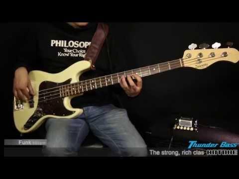 "[Thunder Bass] Bass Amp Head Demo - Hotone ""Nano Legacy"" Series Amplifier"